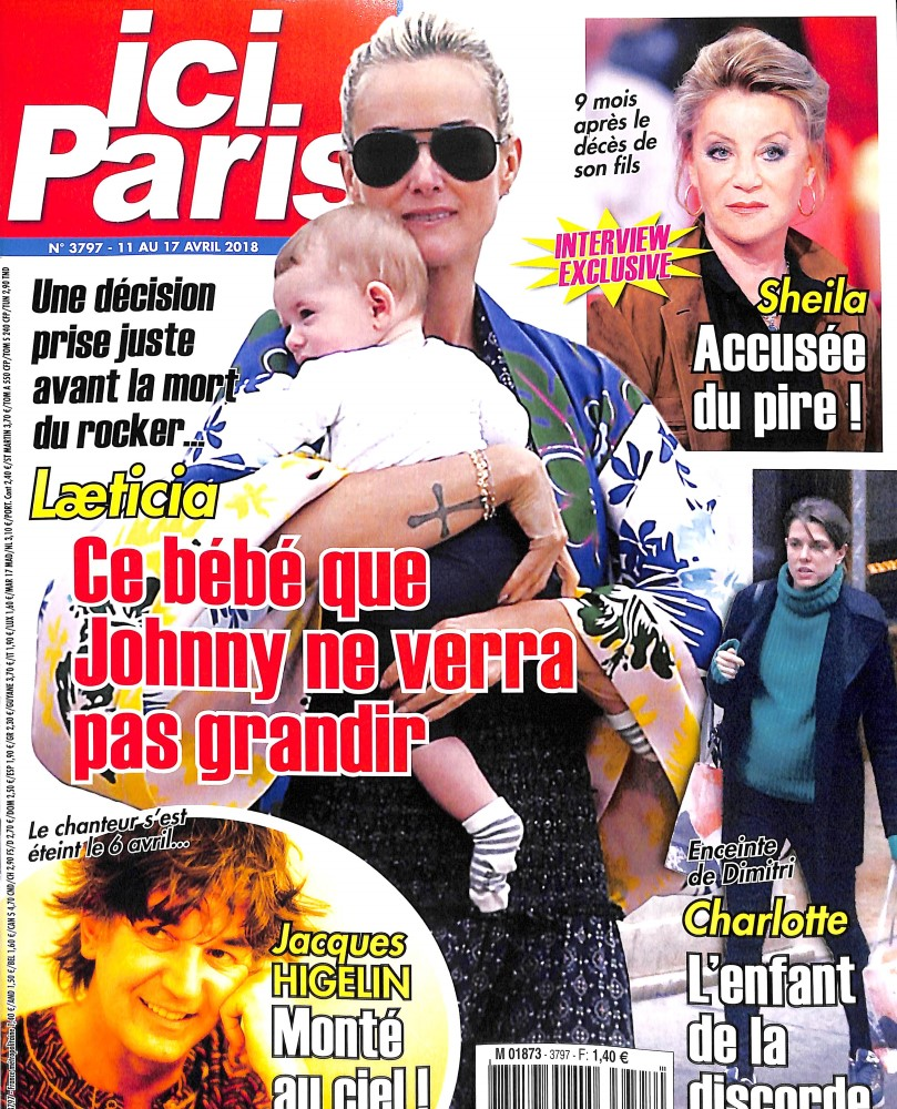 Ici Paris N° 3871 Septembre 2019