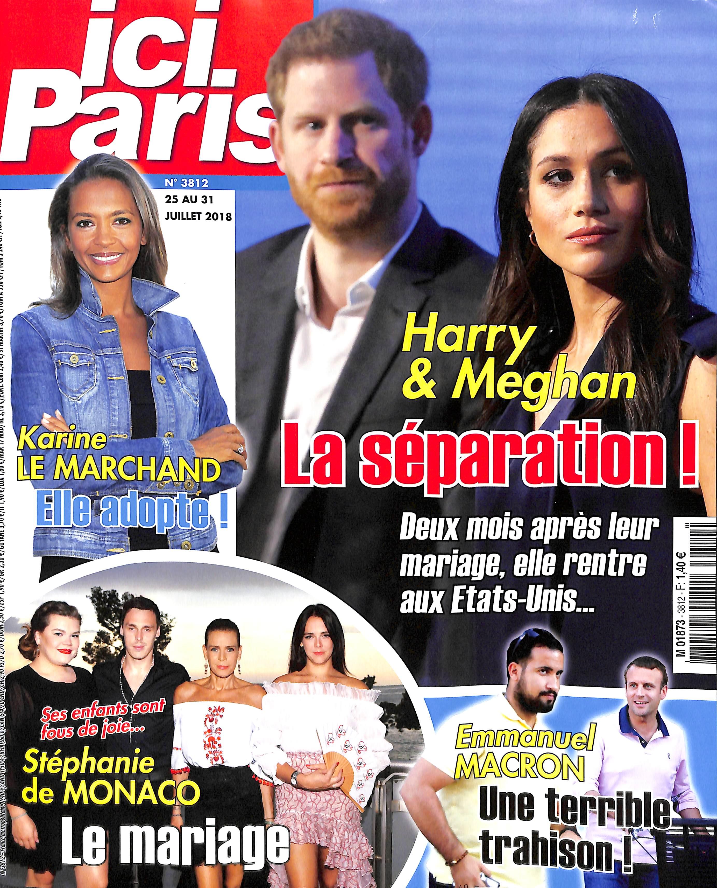 Ici Paris N° 3893 Février 2020