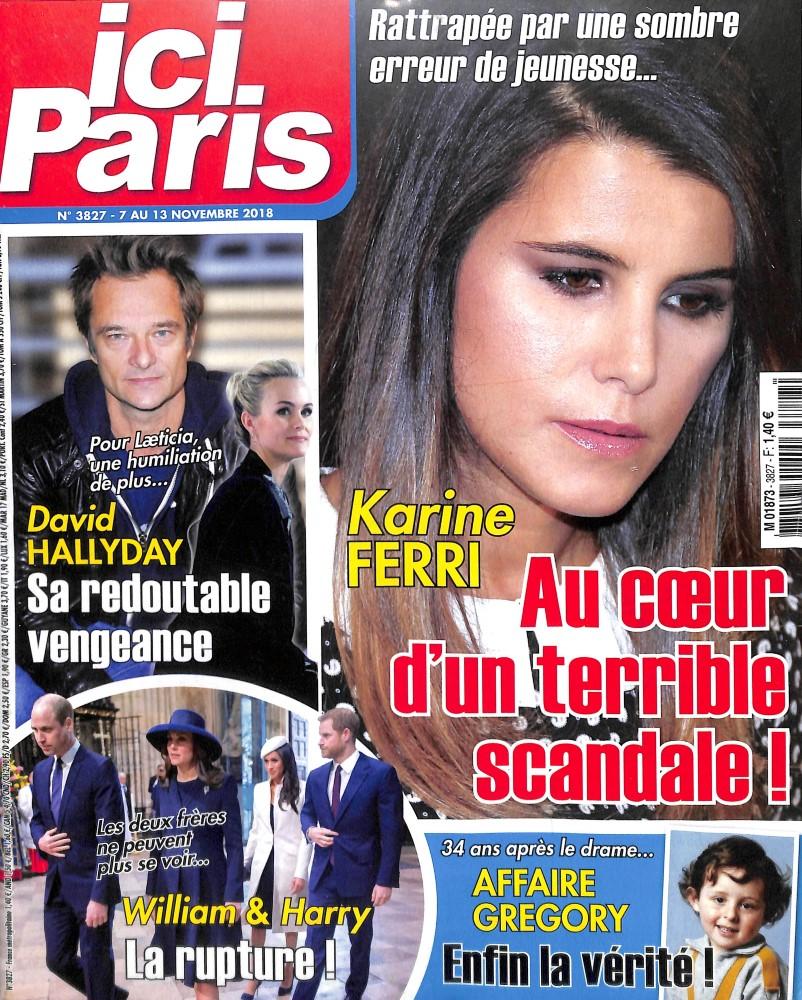 Ici Paris N° 3872 Septembre 2019
