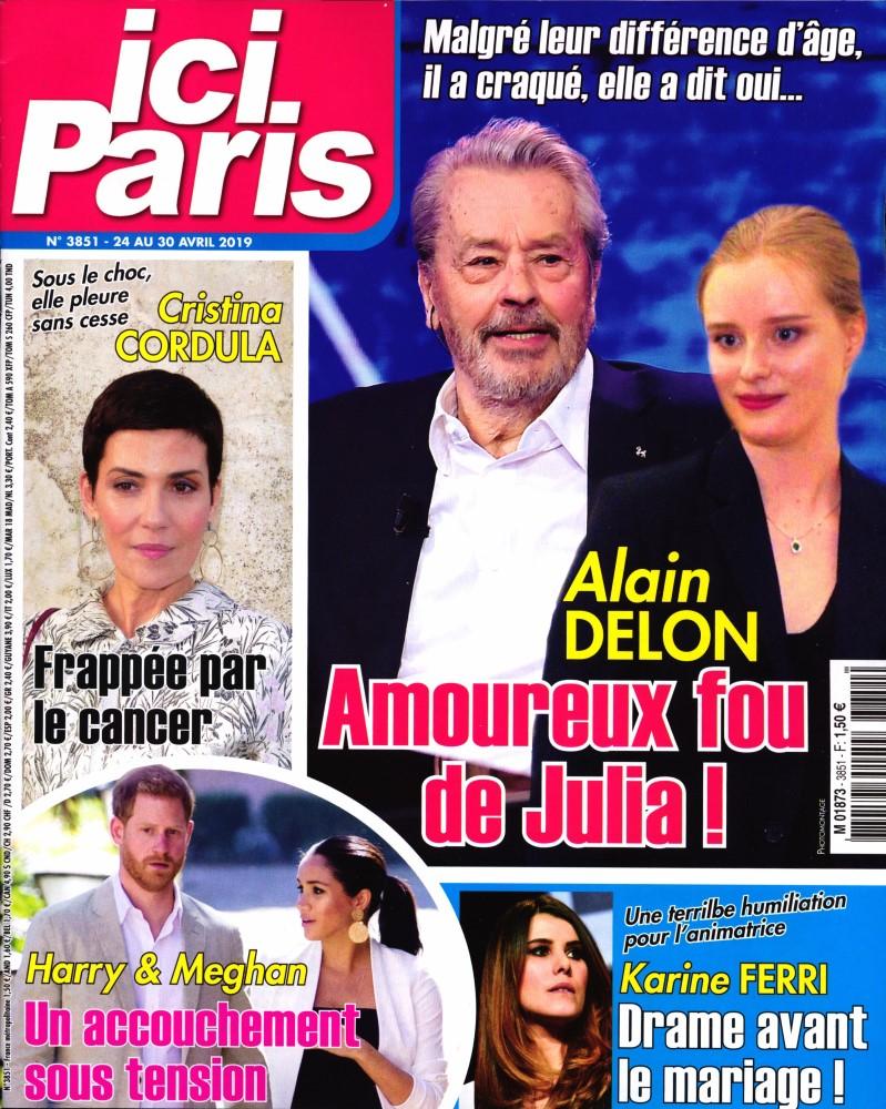 Ici Paris N° 3851 Avril 2019