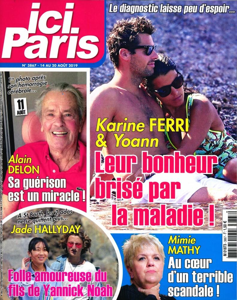 Ici Paris N° 3867 Août 2019