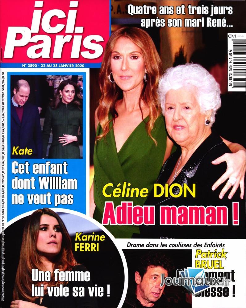 Ici Paris N° 3890 Janvier 2020
