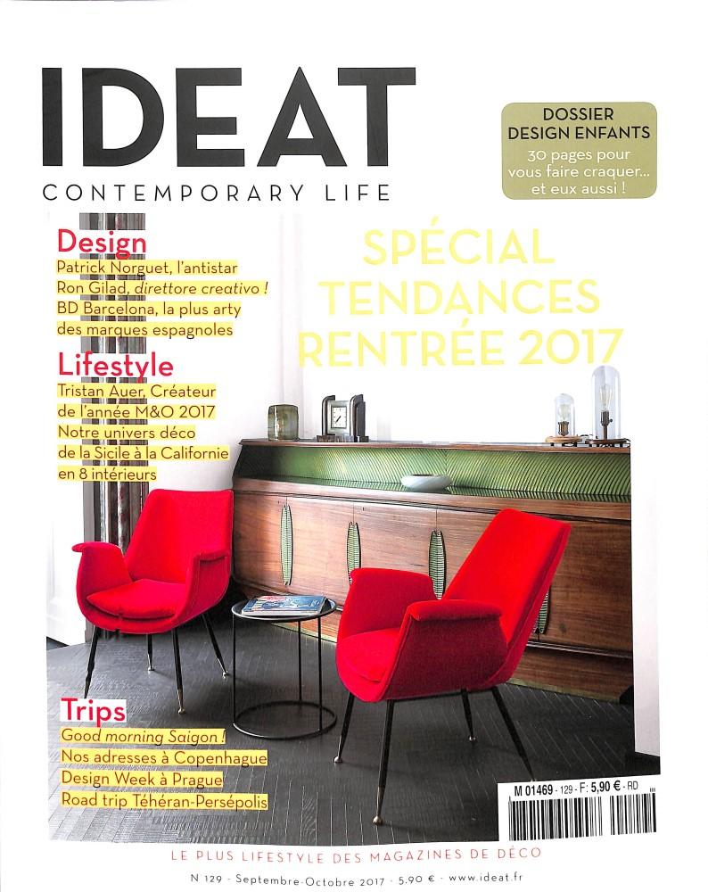 Ideat n 129 abonnement ideat abonnement magazine par for Art et decoration magazine abonnement