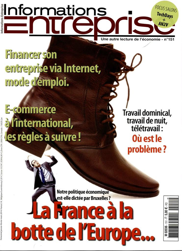 Informations Entreprise N° 170 September 2018