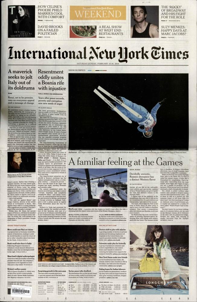 International New York Times N° 716 Juillet 2019