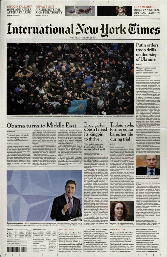 International New York Times N° 716 Juillet 2019