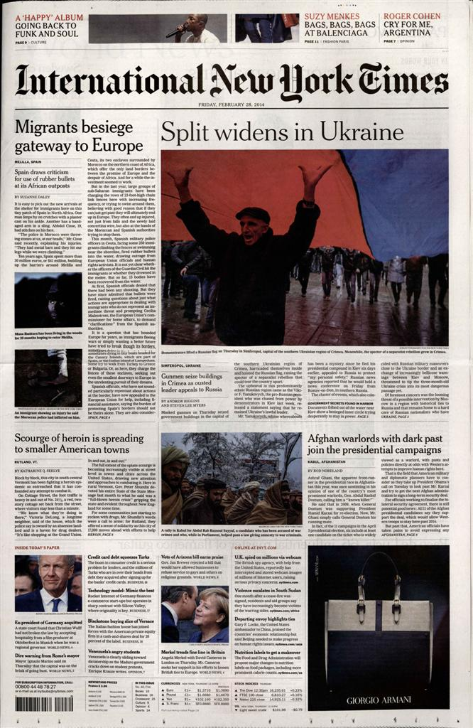 International New York Times N° 1015 Octobre 2019