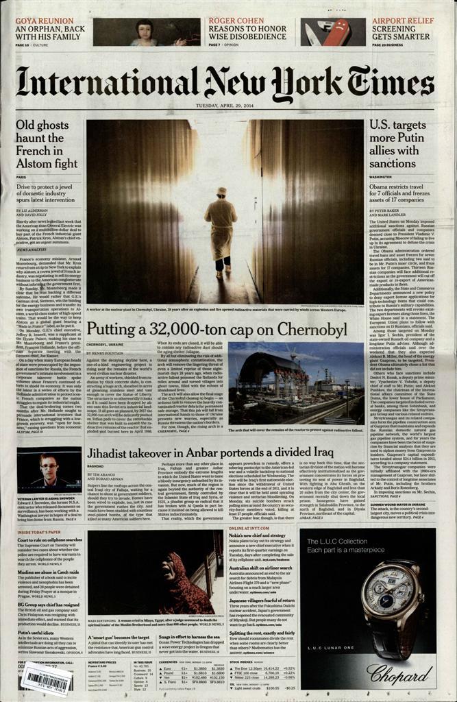 International New York Times N° 114 Janvier 2020