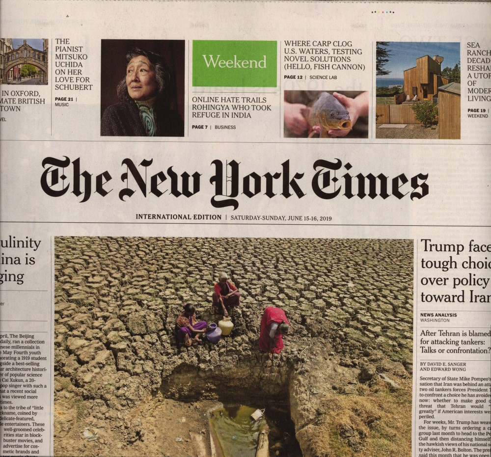 International New York Times N° 615 Juin 2019