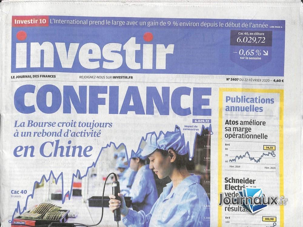 Investir - Le journal des finances N° 2407 Février 2020