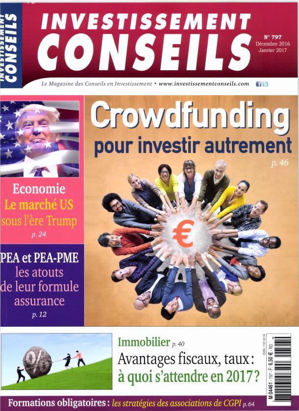 Investissement Conseils N° 798 Janvier 2017