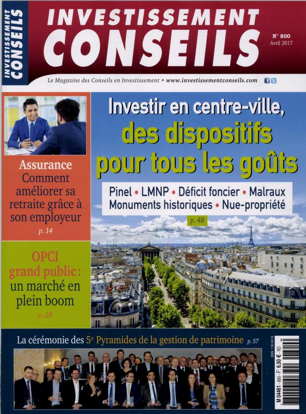 Investissement Conseils N° 800 Mars 2017