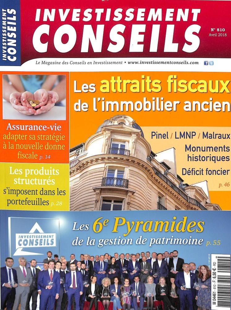 Investissement Conseils N° 810 March 2018