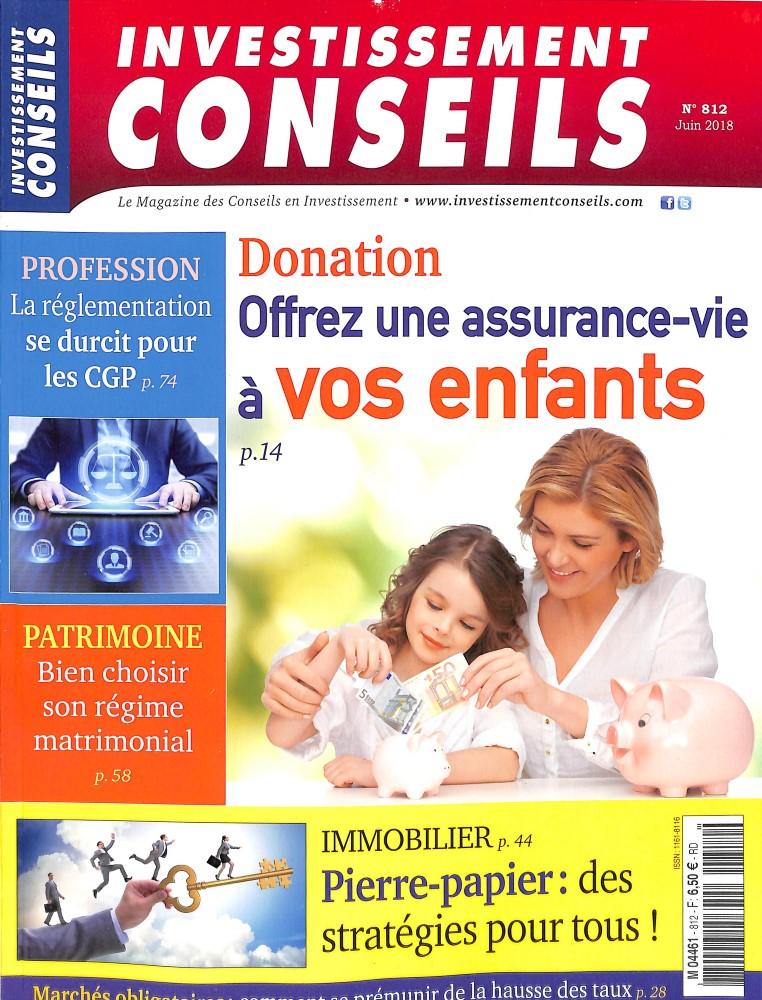 Investissement Conseils N° 812 June 2018