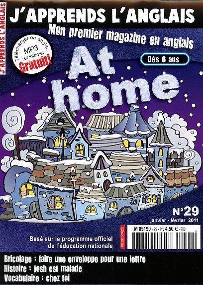 J'apprends l'anglais N° 29 Décembre 2010