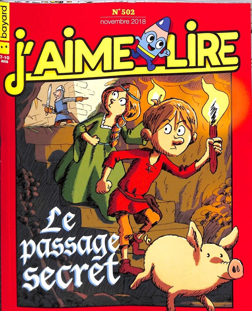 J'aime lire N° 502 October 2018