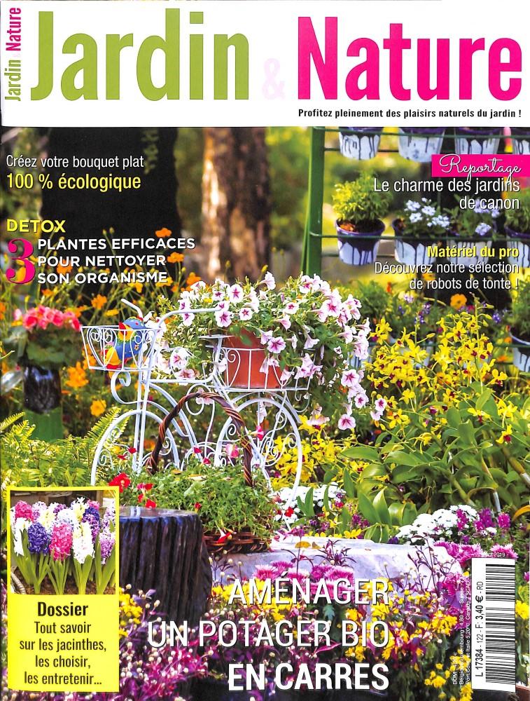 Jardin et nature N° 122 Mars 2019