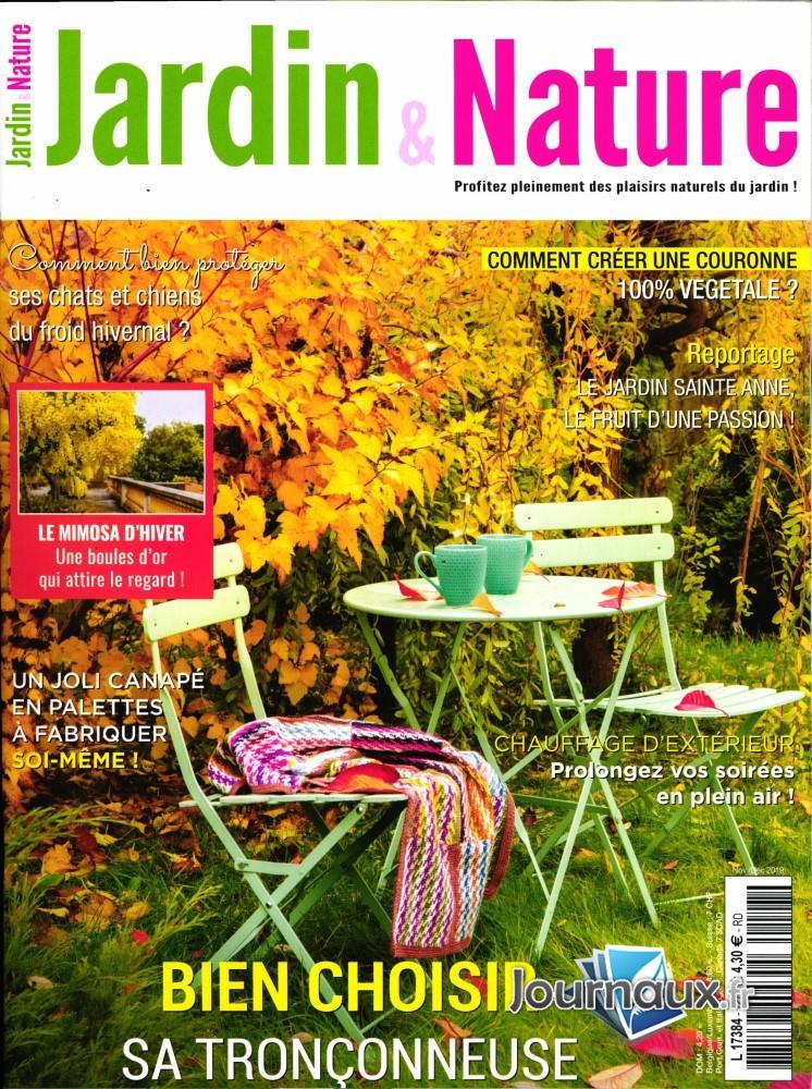 Jardin et nature N° 127 Novembre 2019