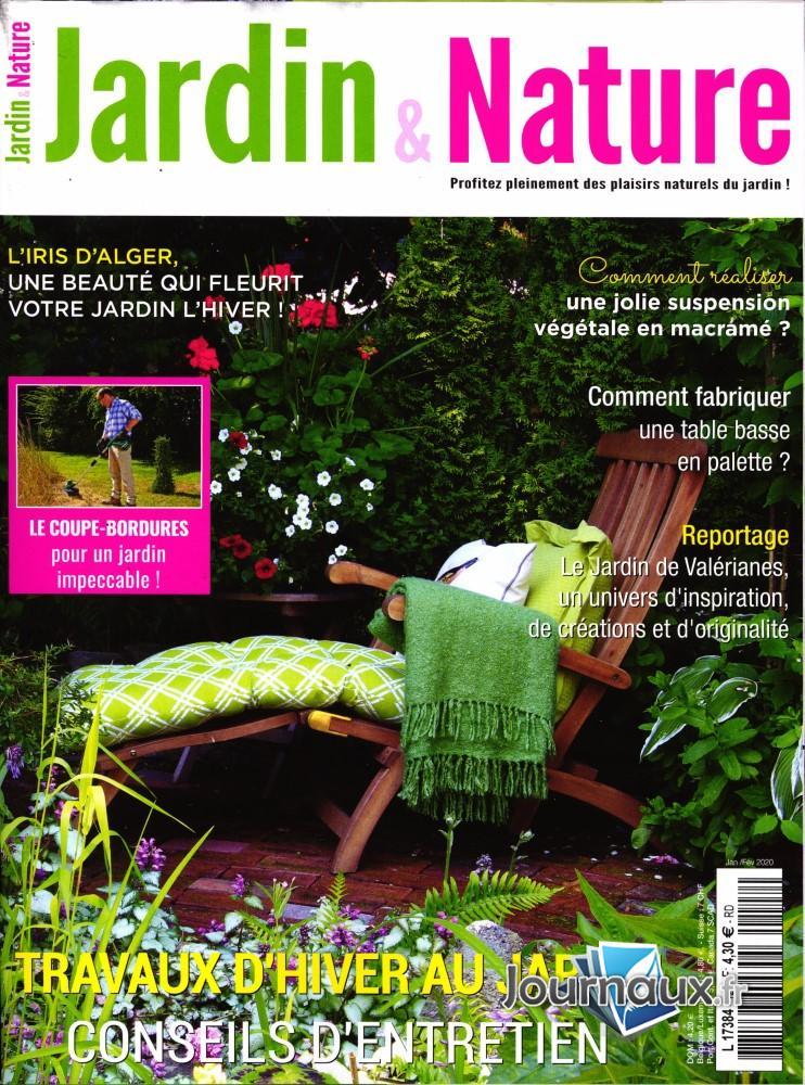 Jardin et nature N° 128 Janvier 2020