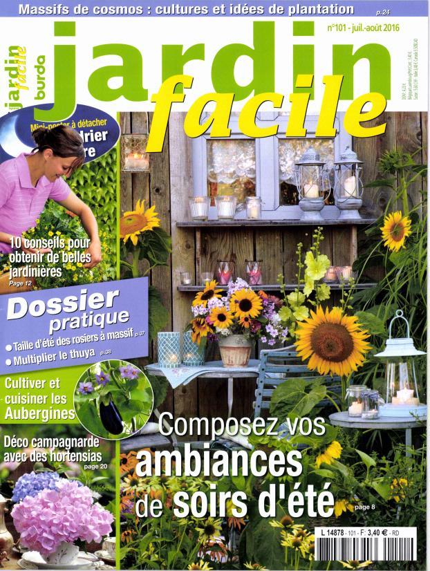 Jardin facile n 101 abonnement jardin facile for Jardin facile
