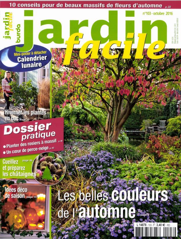 Abonnement jardin facile abonnement magazine par for Jardin facile