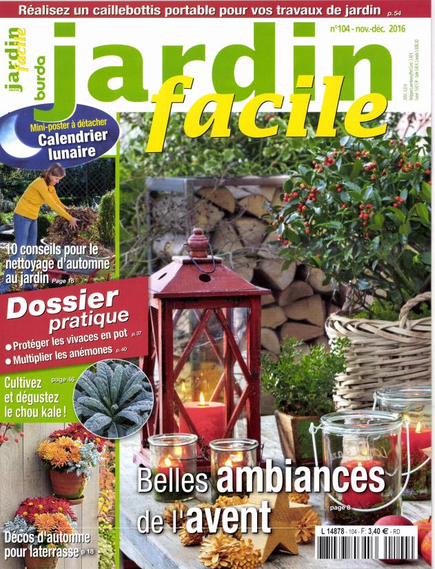 Jardin facile n 104 abonnement jardin facile for Jardin facile