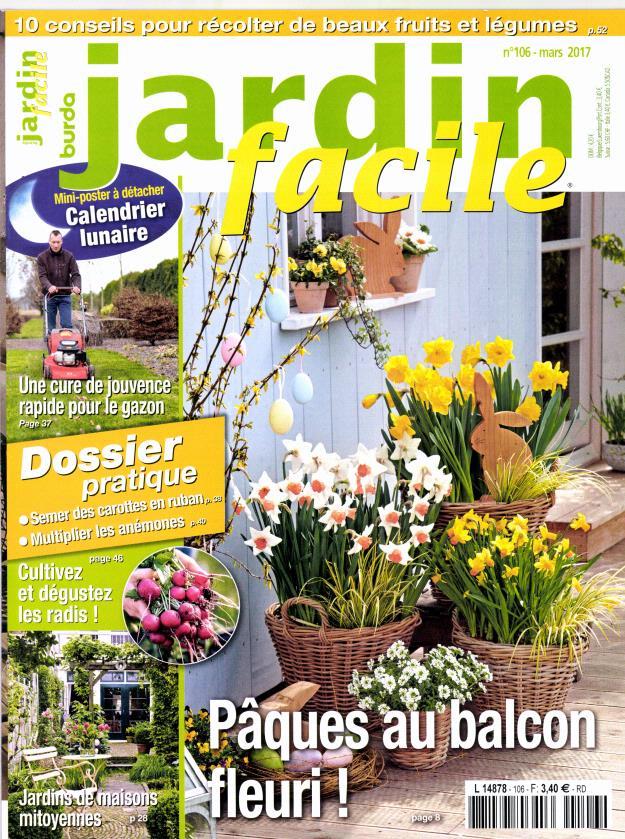 Jardin facile n 106 abonnement jardin facile for Jardin facile