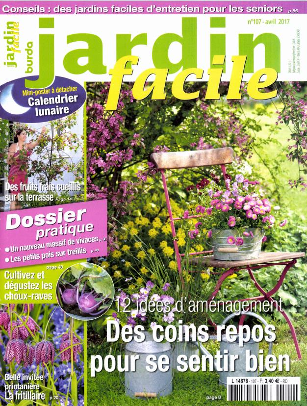 Abonnement jardin facile intermagazines for Magazine jardinage