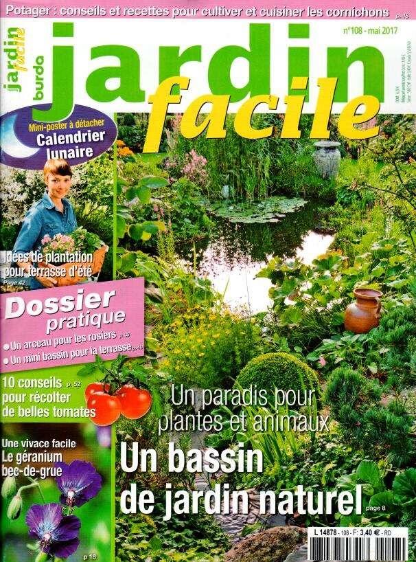 Abonnement jardin facile presse de france for Jardin facile