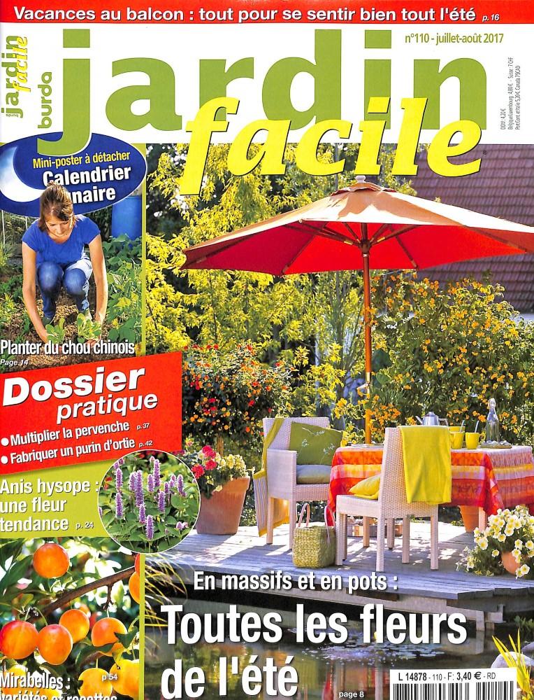 Jardin facile n 110 abonnement jardin facile for Jardin facile