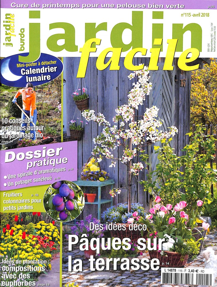 Jardin facile N° 115 March 2018