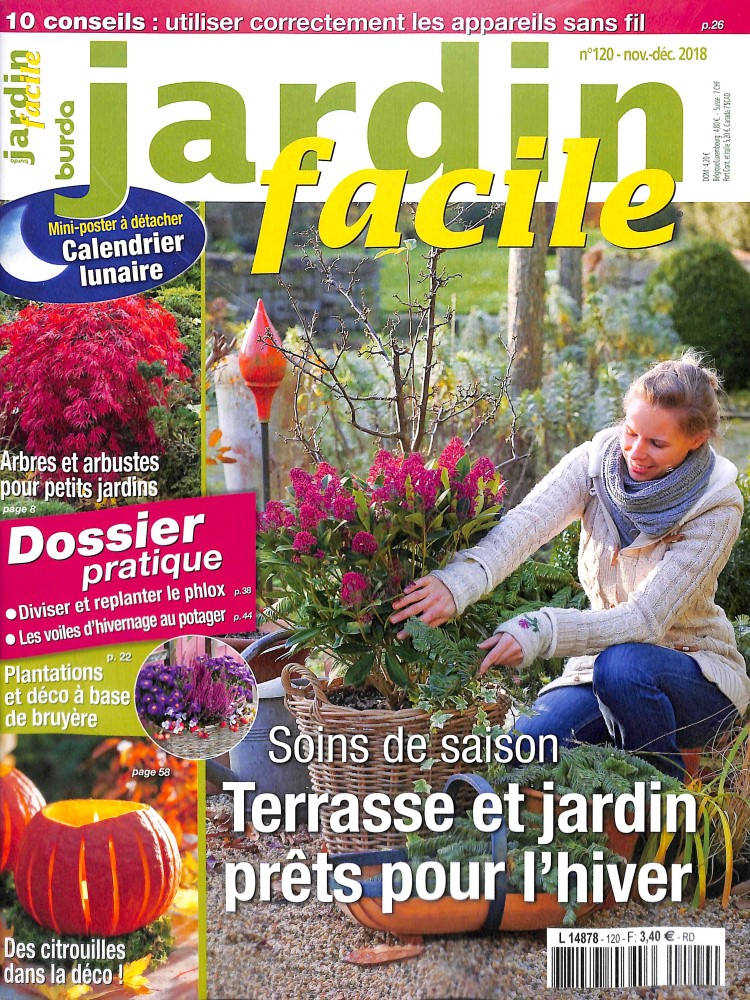 Jardin facile N° 120 October 2018