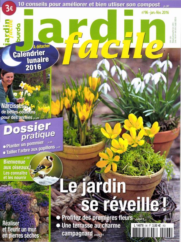 Jardin facile N° 96 Décembre 2015