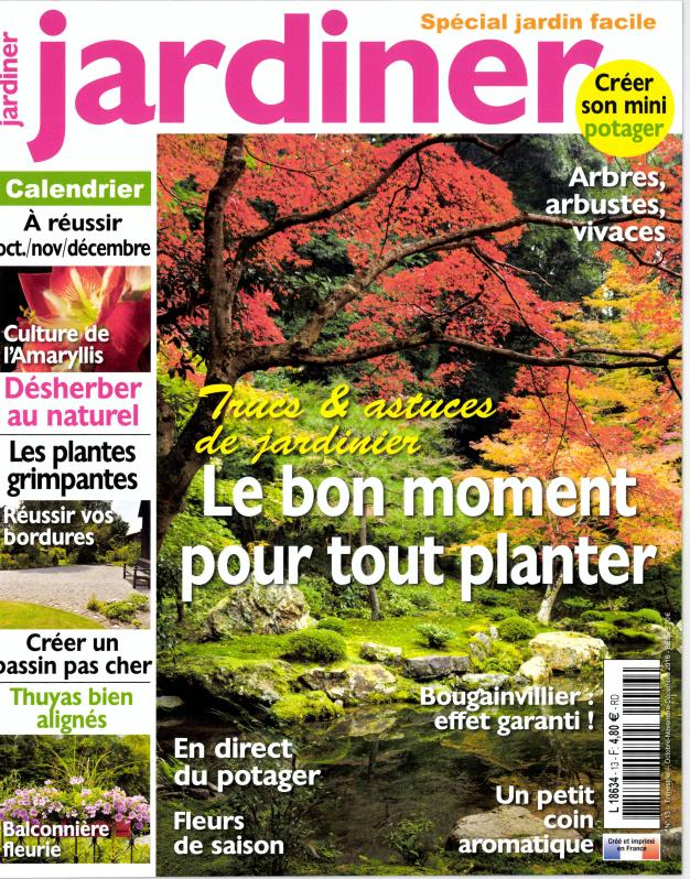 jardiner n 13 abonnement jardiner abonnement magazine par. Black Bedroom Furniture Sets. Home Design Ideas