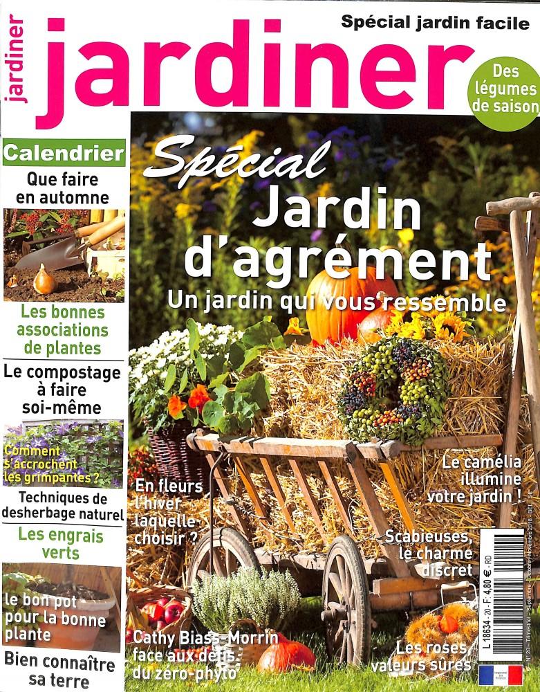 Jardiner N° 20 August 2018