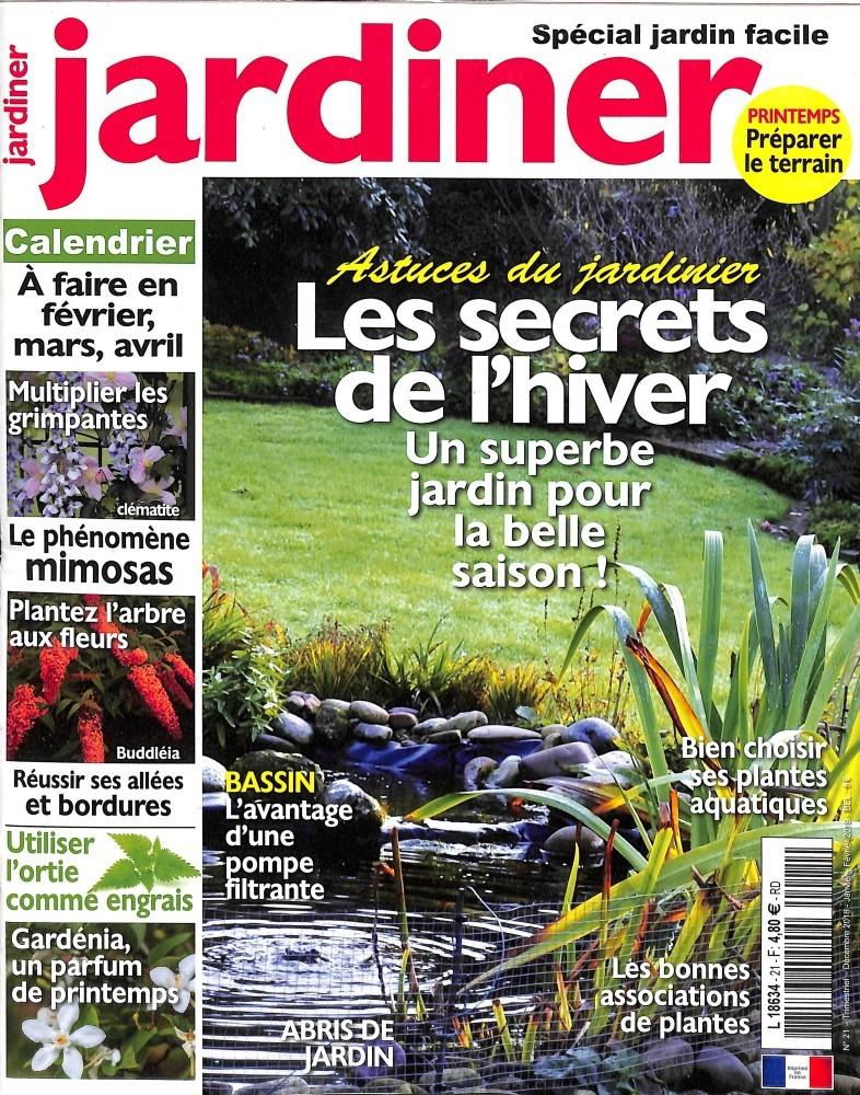 Jardiner N° 21 Novembre 2018