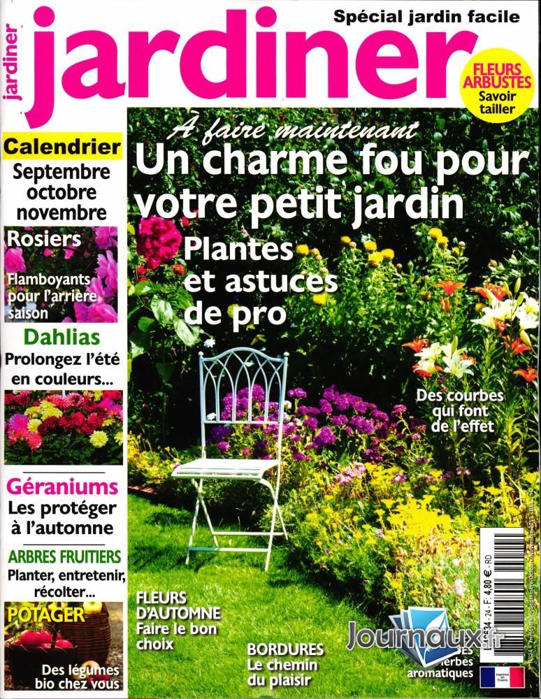Jardiner N° 24 Août 2019
