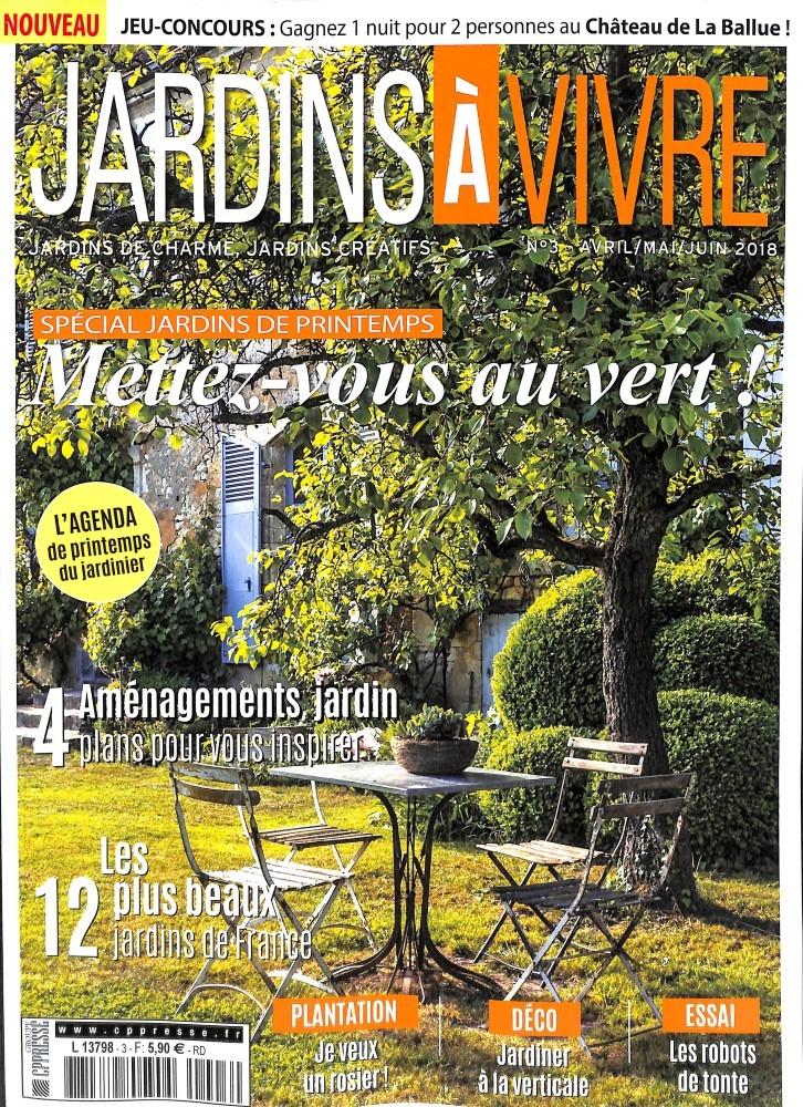 abonnement jardins vivre abonnement magazine par. Black Bedroom Furniture Sets. Home Design Ideas
