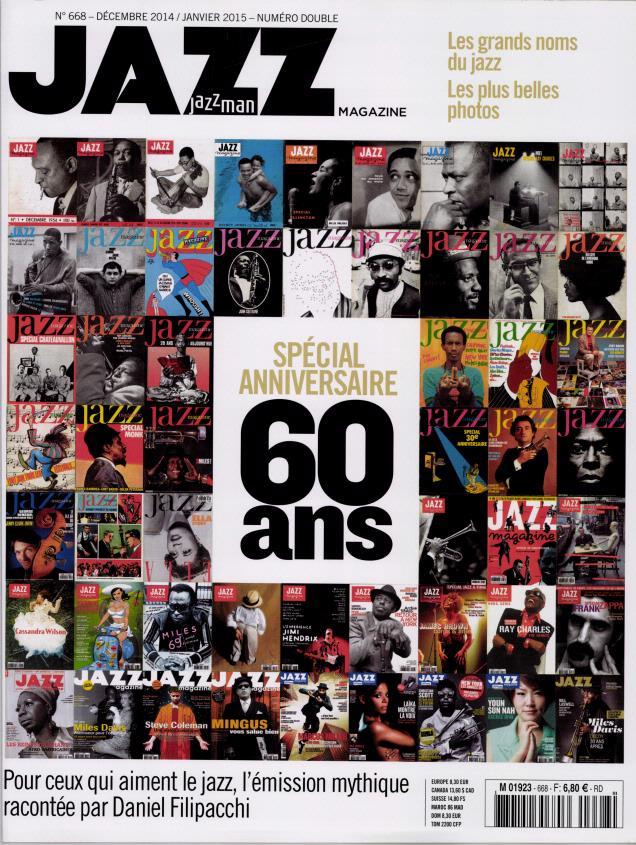 Jazz magazine N° 691 Janvier 2017