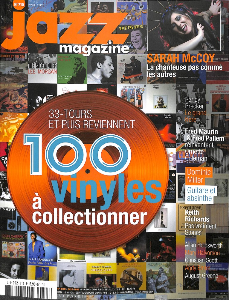 Jazz magazine N° 715 Mars 2019