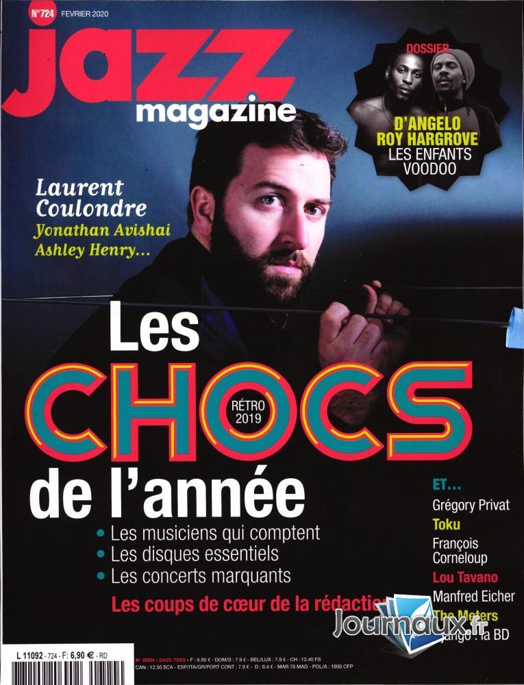 Jazz magazine N° 726 Avril 2020