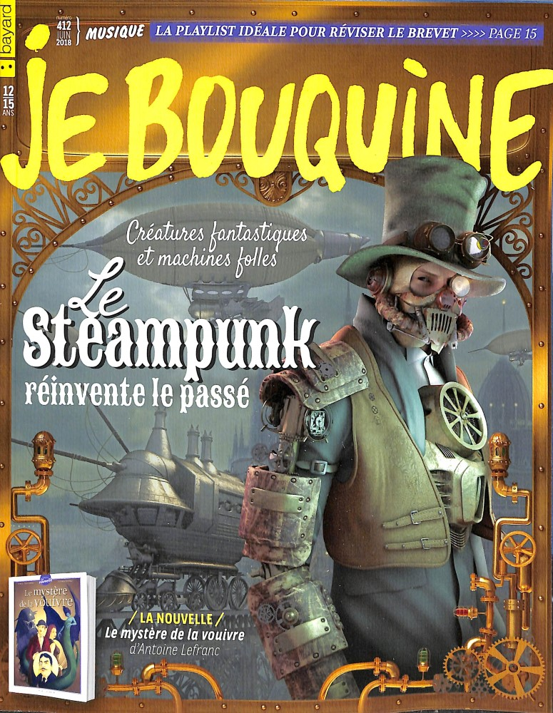Je bouquine N° 412 May 2018