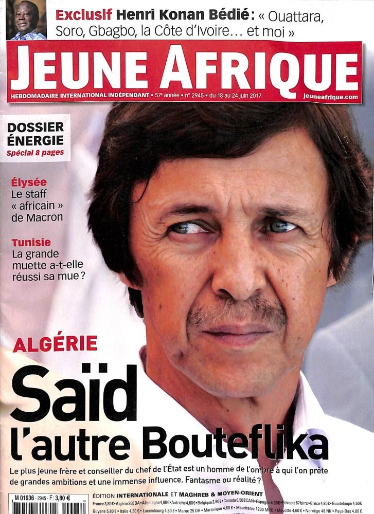 Jeune Afrique N° 2945 Juin 2017