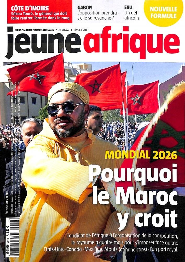 Jeune Afrique N° 2976 Janvier 2018