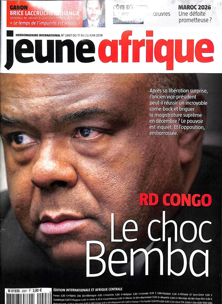 Jeune Afrique N° 2997 June 2018
