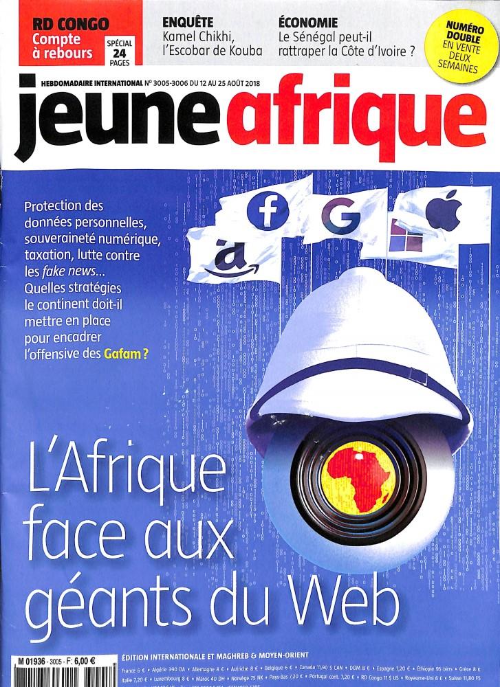 Jeune Afrique N° 3005 August 2018