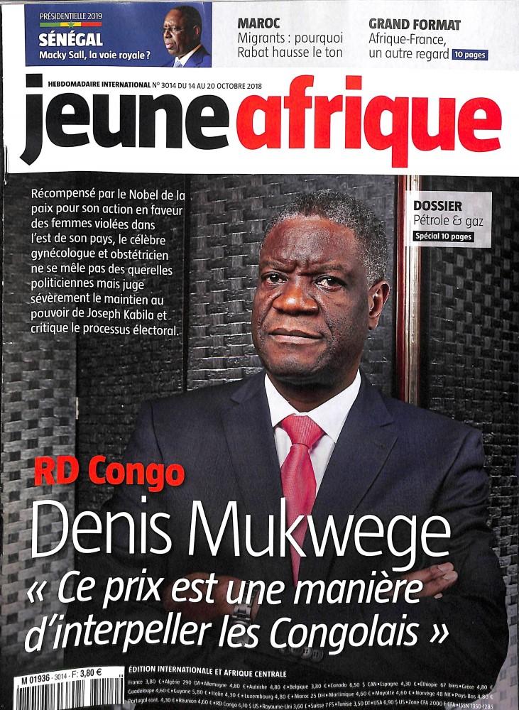 Jeune Afrique N° 3014 October 2018