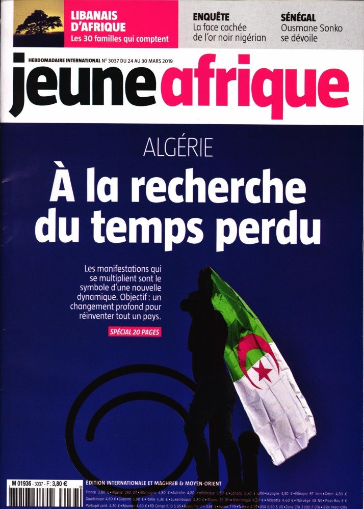 Jeune Afrique N° 3065 Octobre 2019