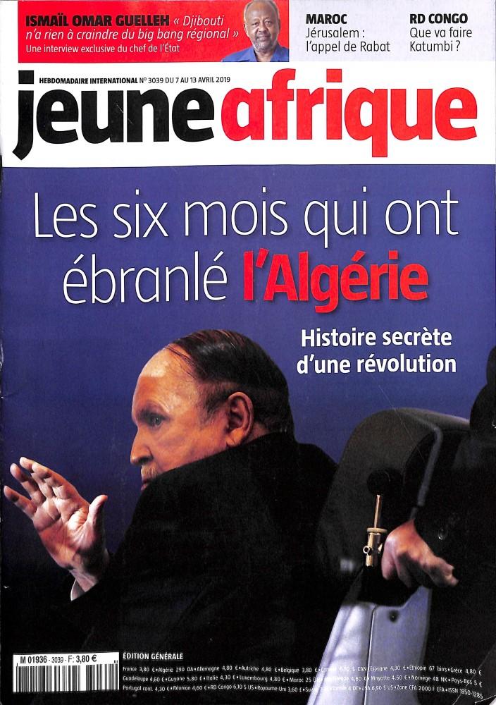 Jeune Afrique N° 3068 Octobre 2019