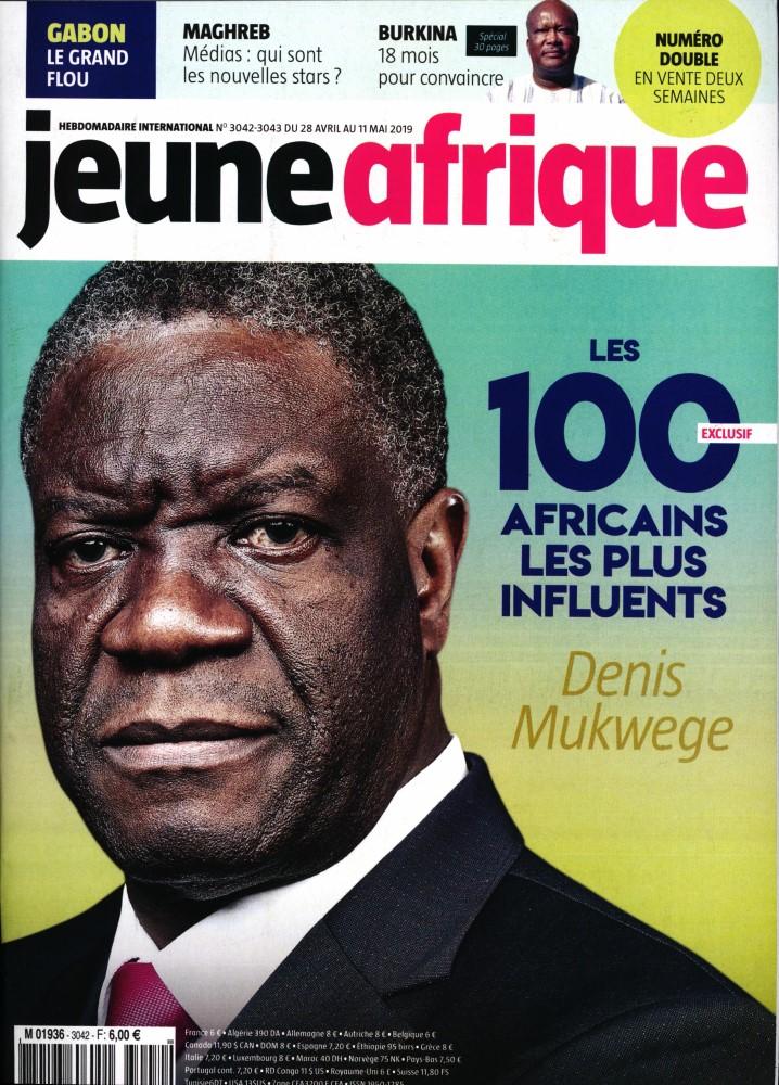 Jeune Afrique N° 3071 Novembre 2019